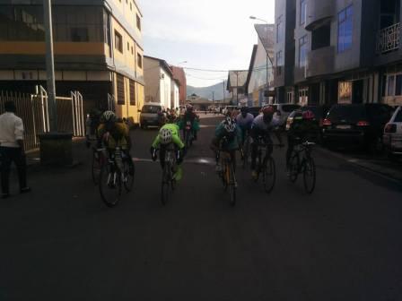 Un sprint dans les rues de Goma