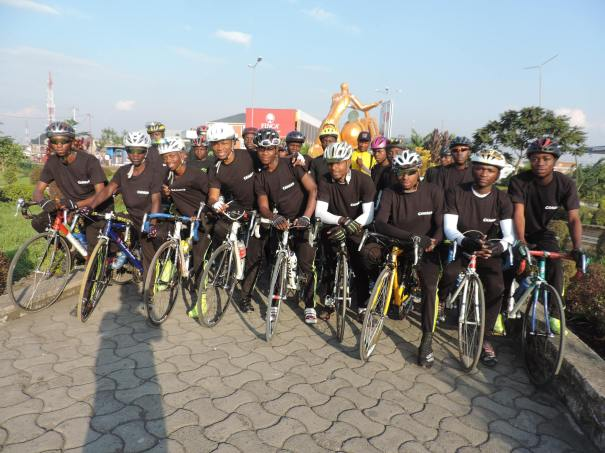 Goma Cycling Clubs...